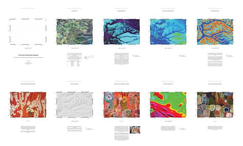 Atlas of Contested Terrain: Founds Maps and Surveys Documenting the Same Piece of Land