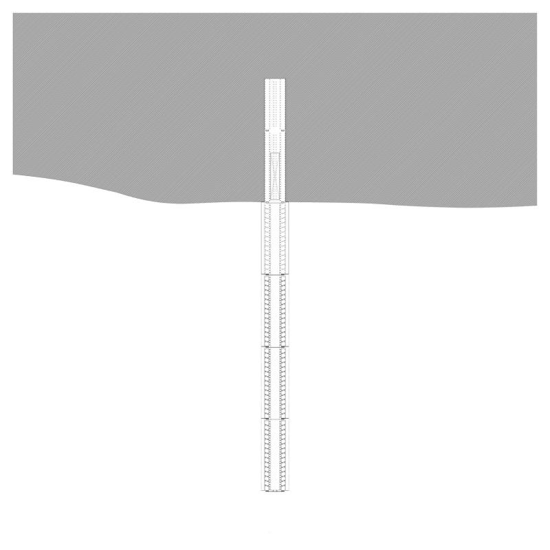1:2500  -9000 mm  (entablature as datum)