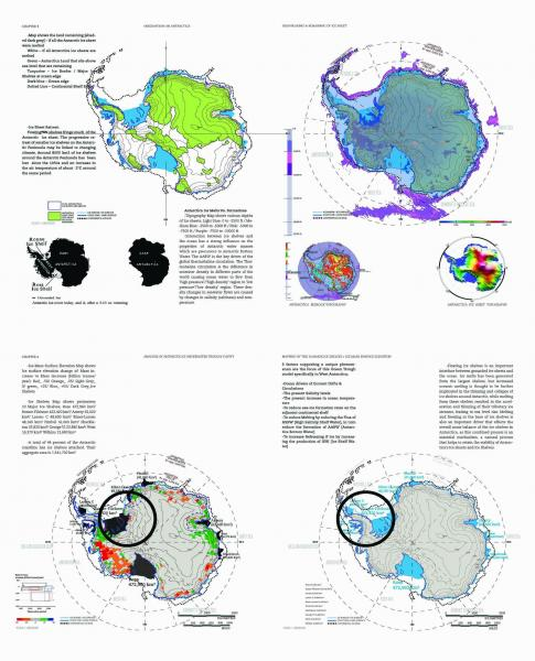 A. Mapping: Disappearing and Remaining Ice Sheets