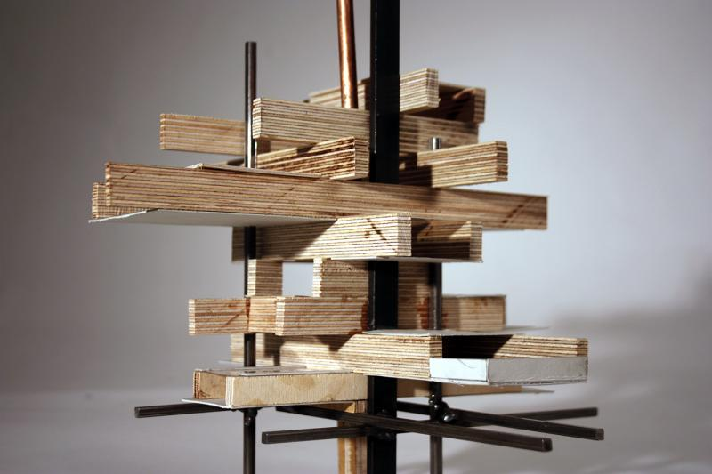 Copper, steel and wood metabolist model
