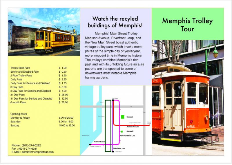Memphis Trolley Tour