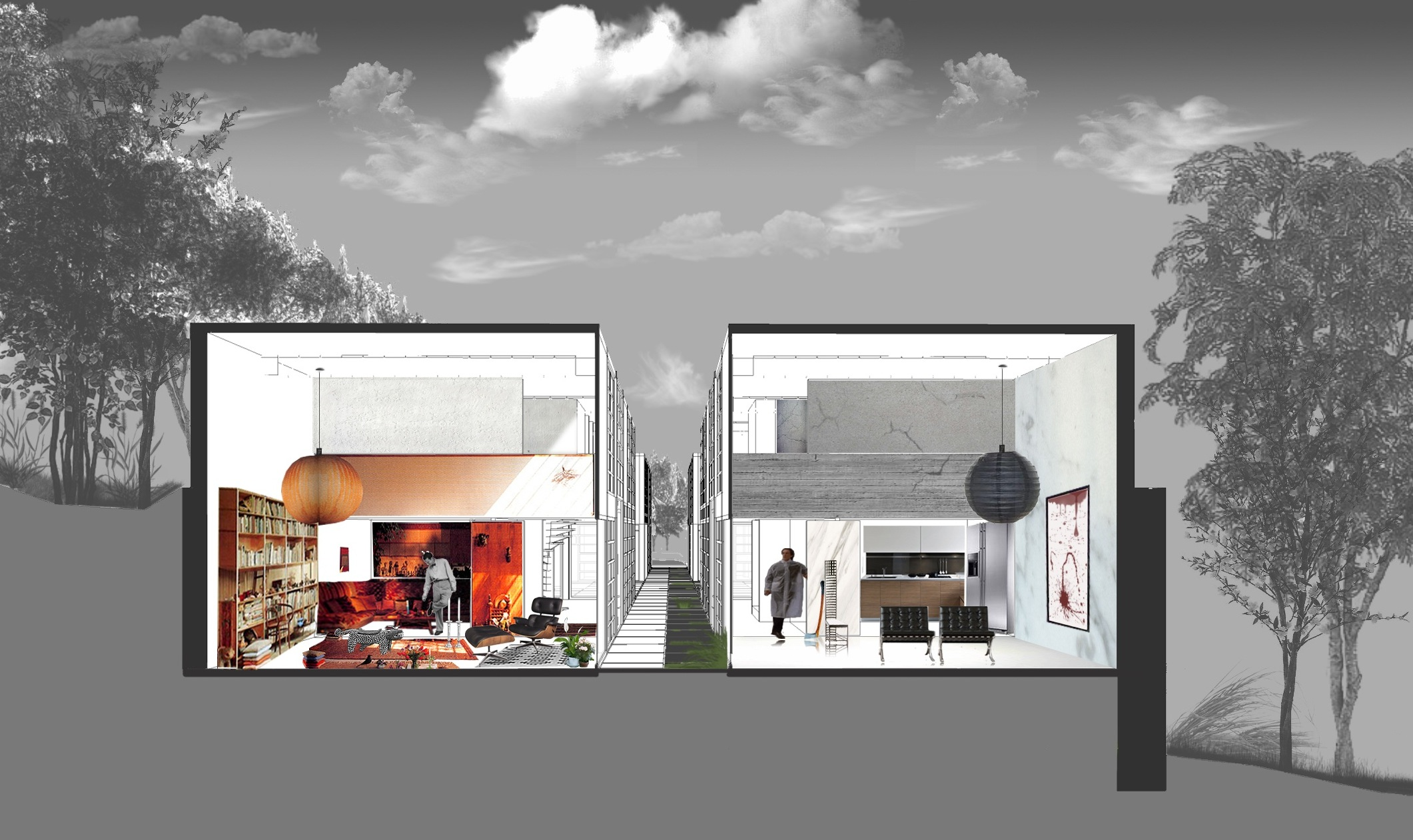 Aa school of architecture projects review 2011 inter 12 - Living room definition architecture ...